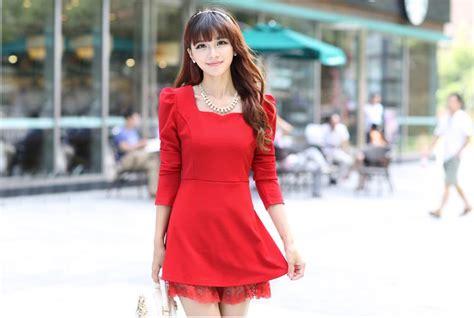 tas pesta wanita limited edition 3 mini dress merah natal terbaru model terbaru jual