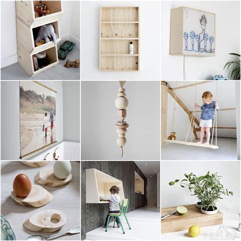 Kinderzimmer Deko Stoff by Inspiration 12 Einfach Diy Ideen Aus Holz F 252 Rs