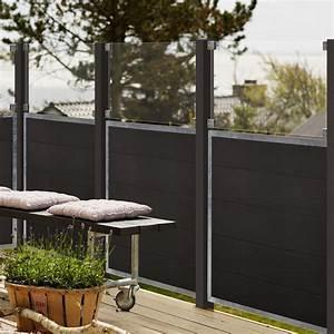 Zaun Aus Glas : wpc zaun futur ~ Michelbontemps.com Haus und Dekorationen