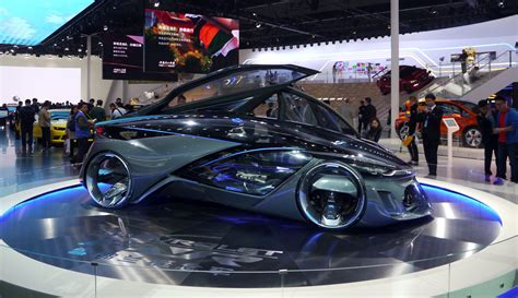 New Car Design : Bold, Brave And At Home In Shanghai