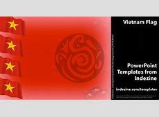 Vietnam Flag 01 PowerPoint Templates
