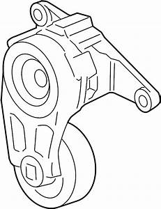 Chevrolet Traverse Accessory Drive Belt Tensioner Assembly
