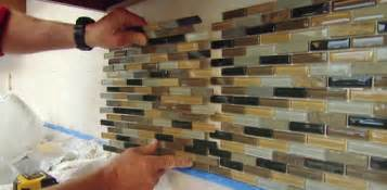 How To Install Tile Backsplash In Kitchen How To Install A Mosaic Tile Backsplash Today 39 S Homeowner