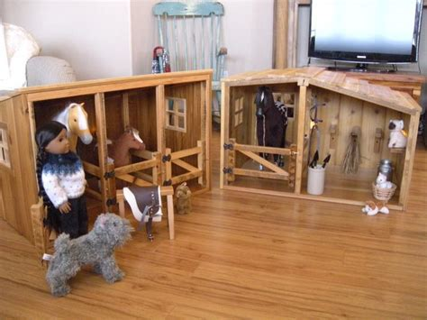 Horse Barn & Stable Set For American Girl By