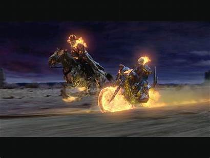 Rider Ghost Wallpapers Cage Nicolas Johnny Horse