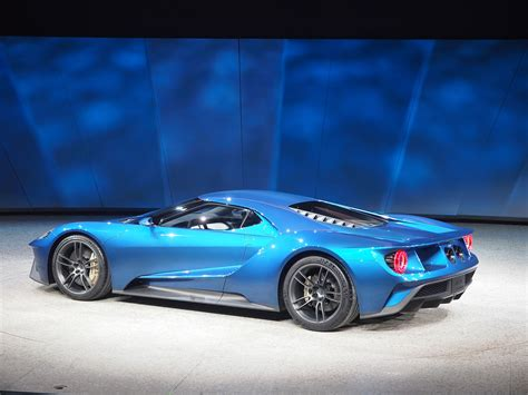 2017 Ford Gt At 2018 Naias Rear Photo Blue Paint Size