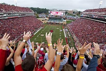 Arkansas Razorback University Attractions Sports Hogs Stadium