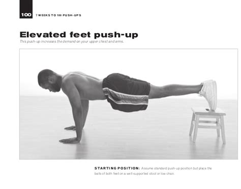 To 100 Push Ups by 7 Weeks To 100 Push Ups Strengthen And Sculpt Your Arms