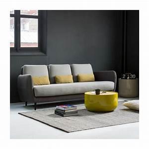 ella canapes canape 2 places gris souris tissu habitat With tapis de souris personnalisé avec canapé fifties habitat
