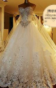 2015 high quality sleeveless sweetheart luxury wedding With plus size sparkly wedding dresses