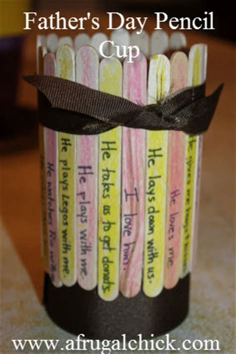 fathers day craft penpencil holder