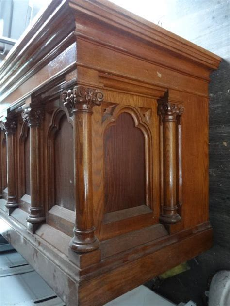 antique gothic style furniture  sale including castle