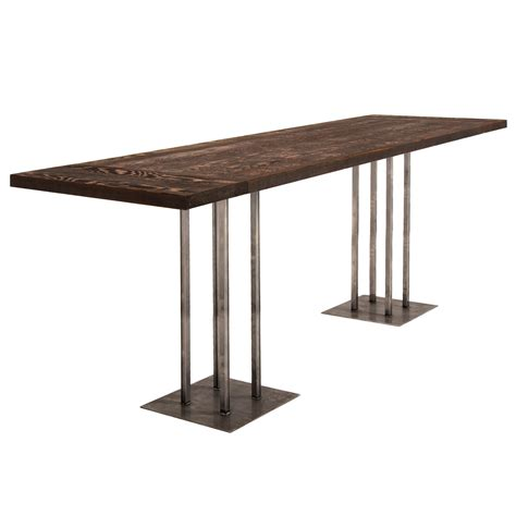 rustic bar table rentals event furniture rental delivery