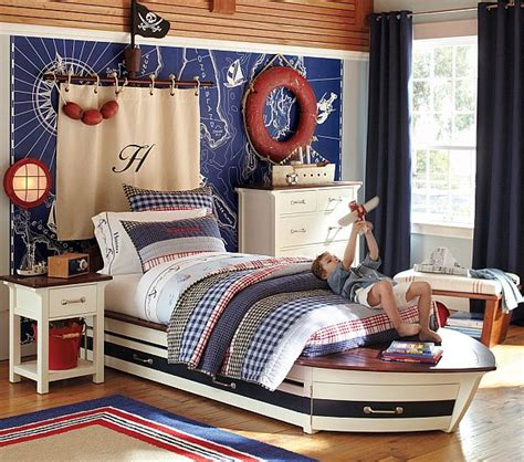 kinderbetten design decorating with a nautical theme