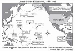 Us Territorial Influence 1914 Map | Country Map