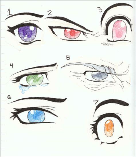 cat s eye anime vs manga manga or anime eye drawings by siouxstar on deviantart