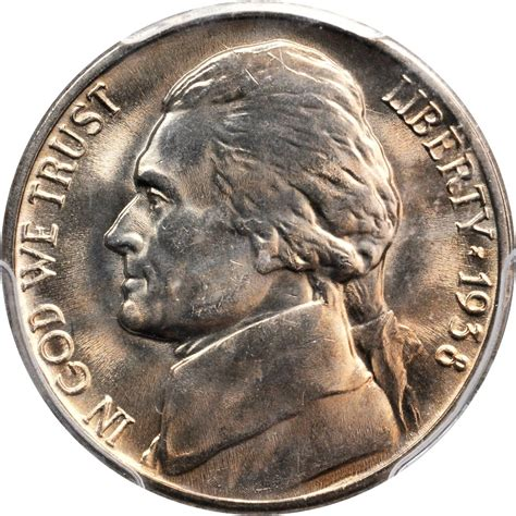 nickel values 1938 s jefferson nickel sell auction modern coins