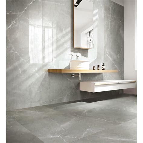 carrelage marbre salle de bain carrelage sol et mur gris effet marbre rimini l 60 x l 60 cm leroy merlin