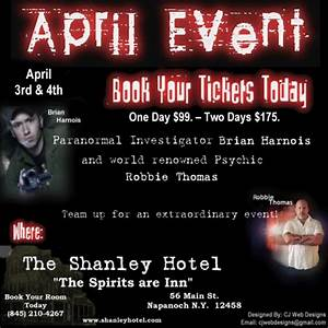 Renowned Psychic Robbie Thomas and Renowned Ghost Hunter ...