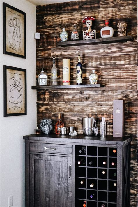 Home Bar Shelves by Home Diy Bar Room With Mixbook