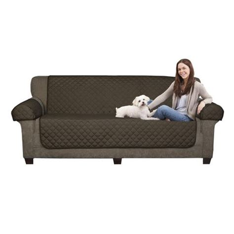 Sofa Pet Covers Walmart by Mainstays Microfiber Reversible Sofa Pet Cover Walmart Ca