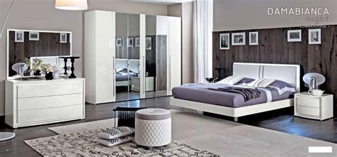 chambre meuble blanc chambre à coucher italienne dama laque blanc chambre