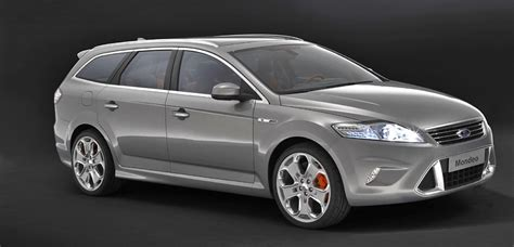 top of the range ford mondeo show ford mondeo wagon concept official press release pictures