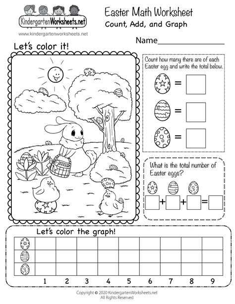 printable easter worksheets   adaptable