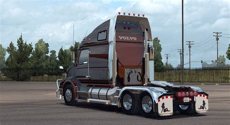 truck volvo volvo vnl 670 for ats truck v1 4 1 by aradeth american