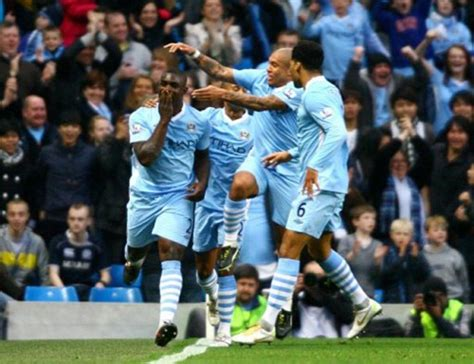 Soccer – Barclays Premier League – Manchester City v ...