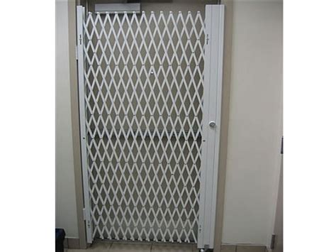 folding gate for door security