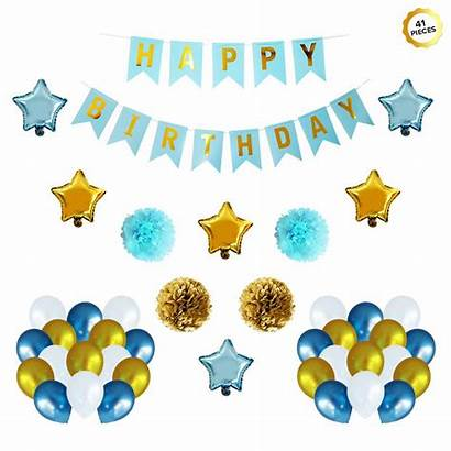 Party Decorations Birthday Happy Banner Foil Balloon