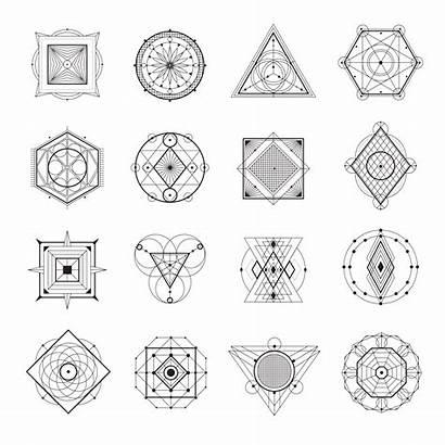 Geometry Sacred Vector Symbols Freepik Illustration Vecteezy