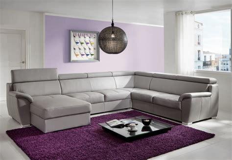grand canapé d angle en u grand canapé d 39 angle shane en u 6 places cuir ou tissu