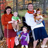 Family 5 Halloween Costumes