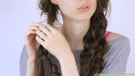 Braiding Hair: French Braid Wet Hair