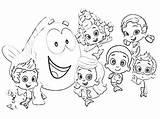 Guppies Bubble Coloring Pages Printable Getdrawings Drawing Clipart Puppy Splatoon Getcolorings Gangsta Colorings Birijus sketch template