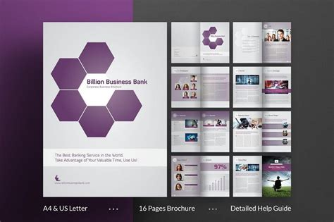 Modern Brochure Template by 70 Modern Corporate Brochure Templates Design Shack