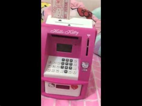 kitty mini atm machine youtube