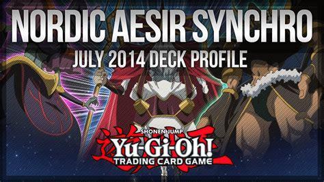 Yugioh Nordic Deck 2014 by Nordic Aesir Synchro July 2014 Format Yu Gi Oh Deck