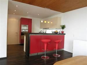 Küchen Mit Bar : moderne wohnk che mit bar ~ Markanthonyermac.com Haus und Dekorationen