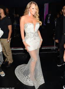 wedding gown dress bet awards 2013 carey accused of lip synching