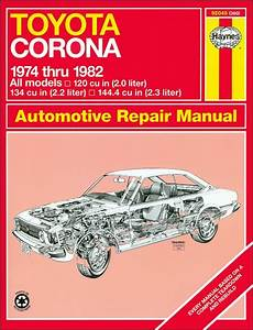 Toyota Corona  Sr5 Repair And Service Manual 1974