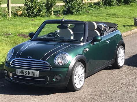 mini cooper convertible  racing green full mini