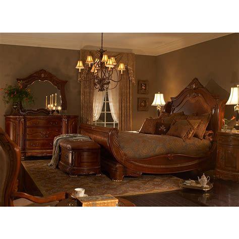 El Dorado Furniture Bedroom Set by Cortina King Sleigh Bed El Dorado Furniture