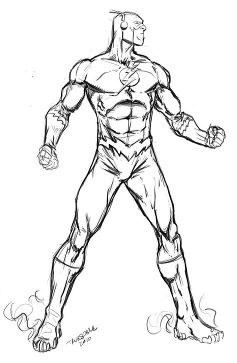 in color dc dc comics flash coloring pages and print for free