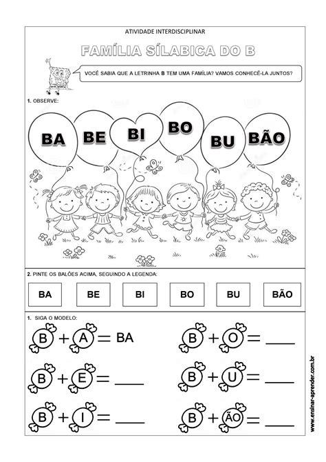 a arte de ensinar e aprender atividade pronta letra inicial