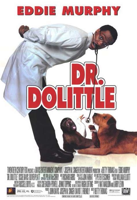 Dr Dolittle Movie Posters From Movie Poster Shop