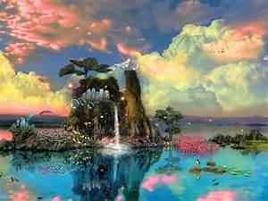 Colorful Dream World Wallpaper