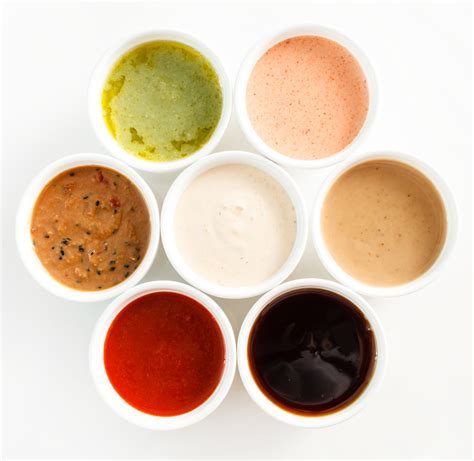 sauce cuisine five sauces nutrition and food safety